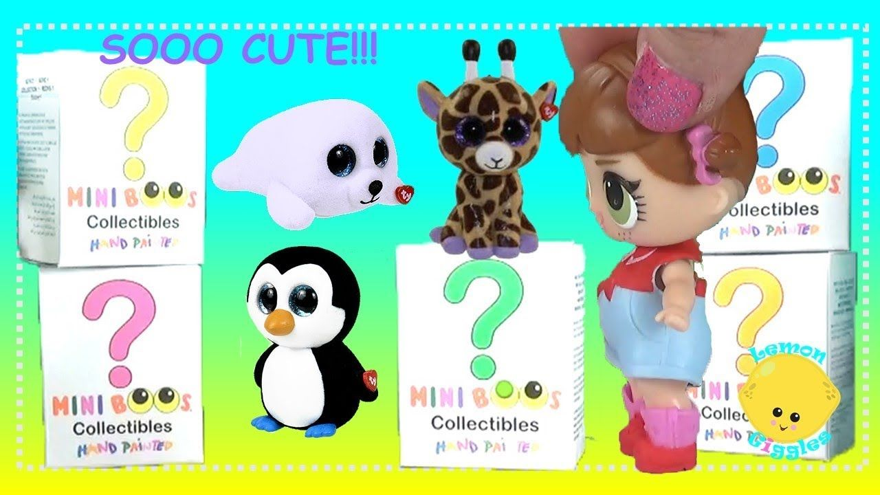 8a38cb9ecf4 Beanie BOOs Mini Boos Ty Collectible Figures Blind Box Series 1 LOL Dolls  Unboxing