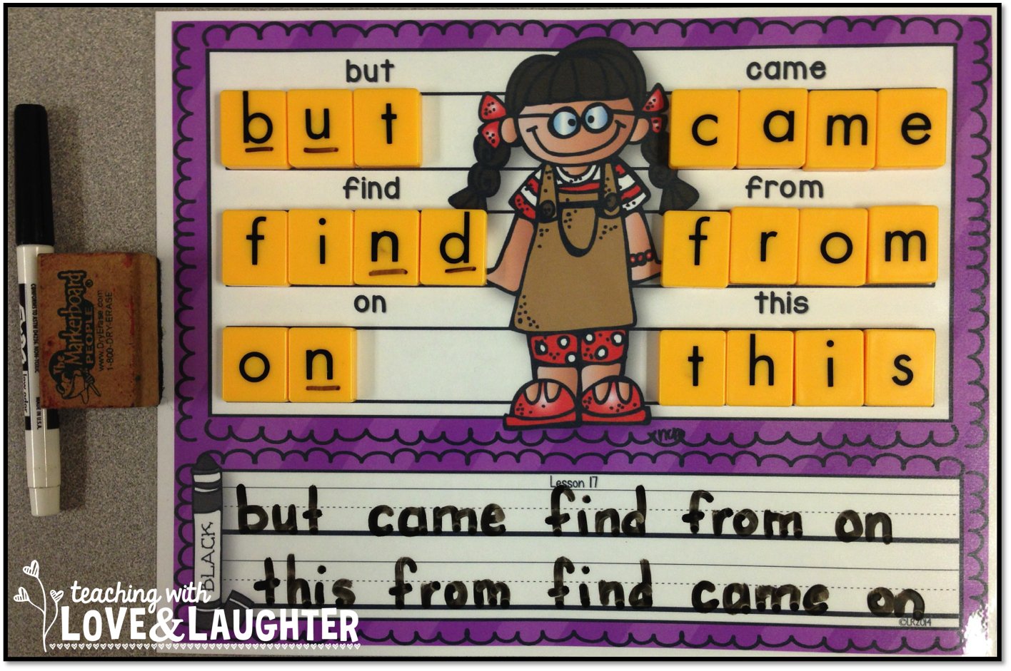Build And Write Kindergarten Sight Words Edition