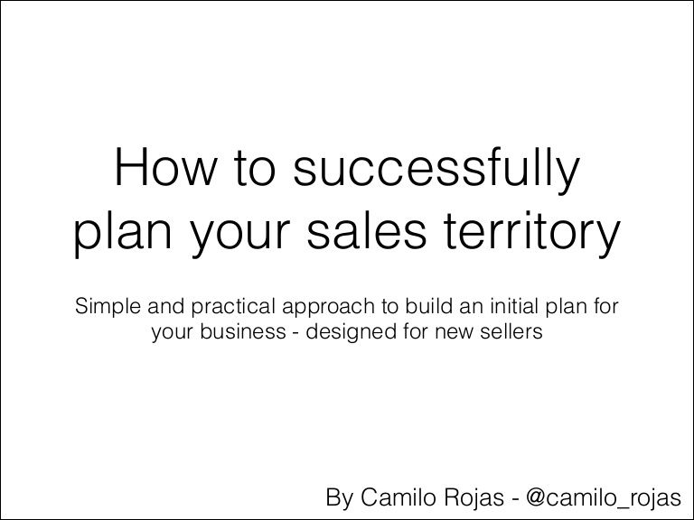 Basic guide for new sellers of enterprise software Solution - sales plan example