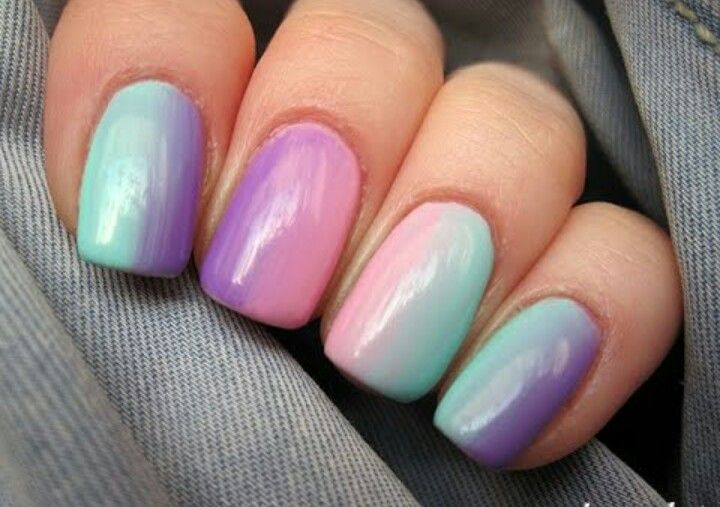 Best shaded nail art ever! Super cool   Nails to try   Pinterest