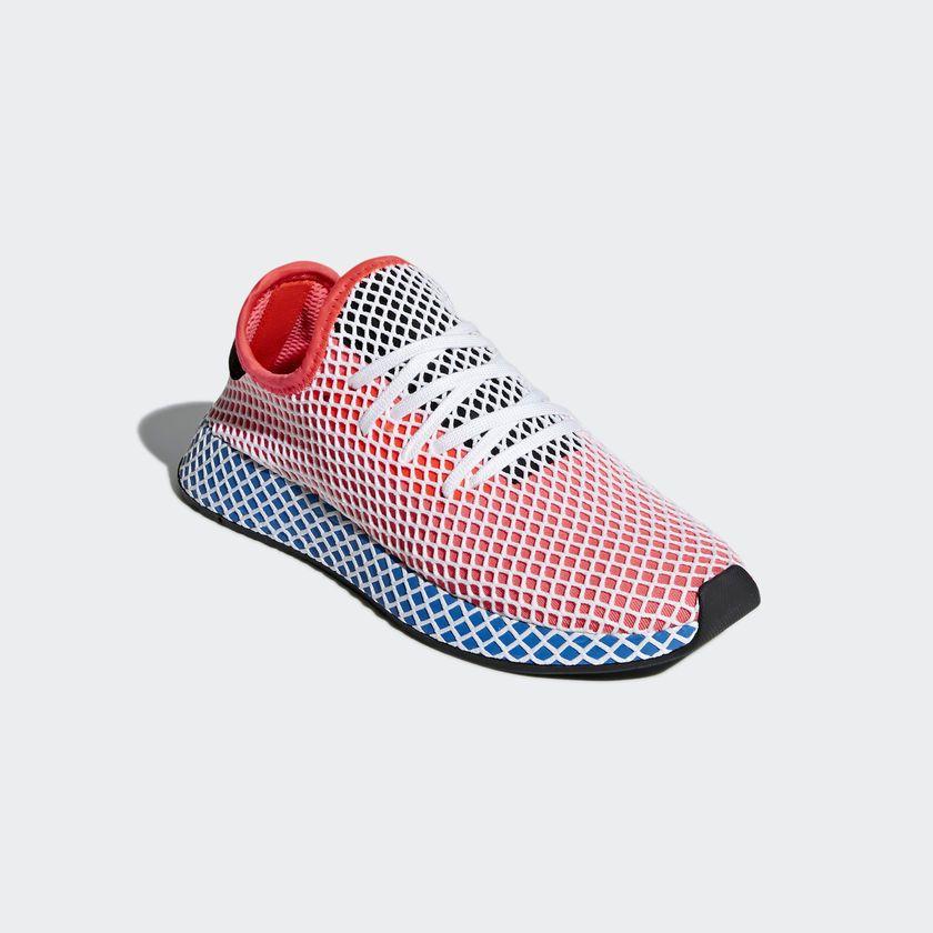 ᐅ adidas Deerupt Runner – Solar Red | Läufer schuhe, Adidas ...