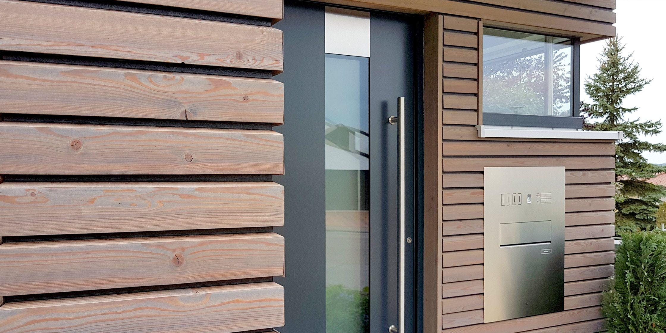 Trendliner Dekorativ Holzfassade Fassade Haus Verputzen