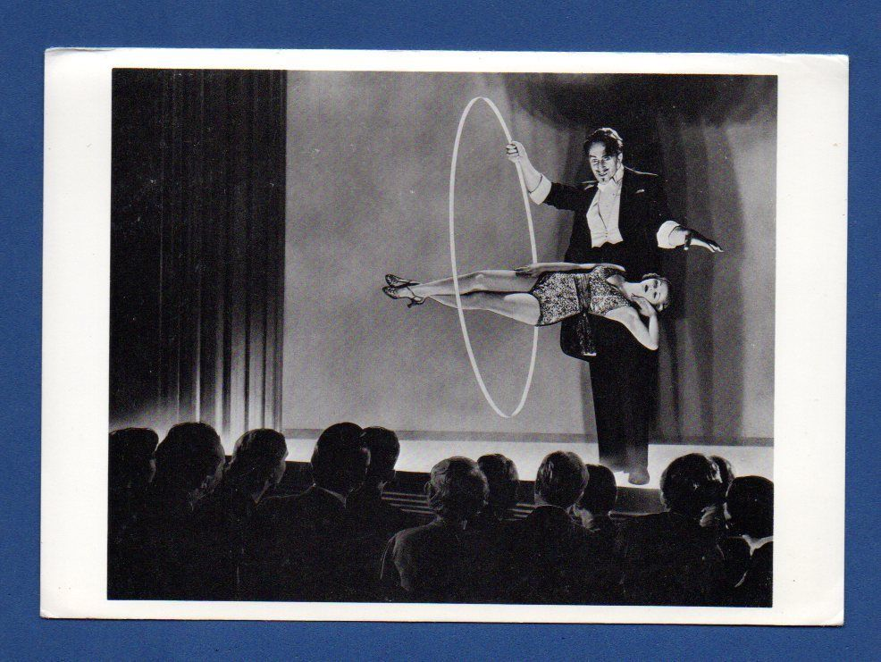 Magician Photograph By Nickolas Muray Vintage Photo Postcard