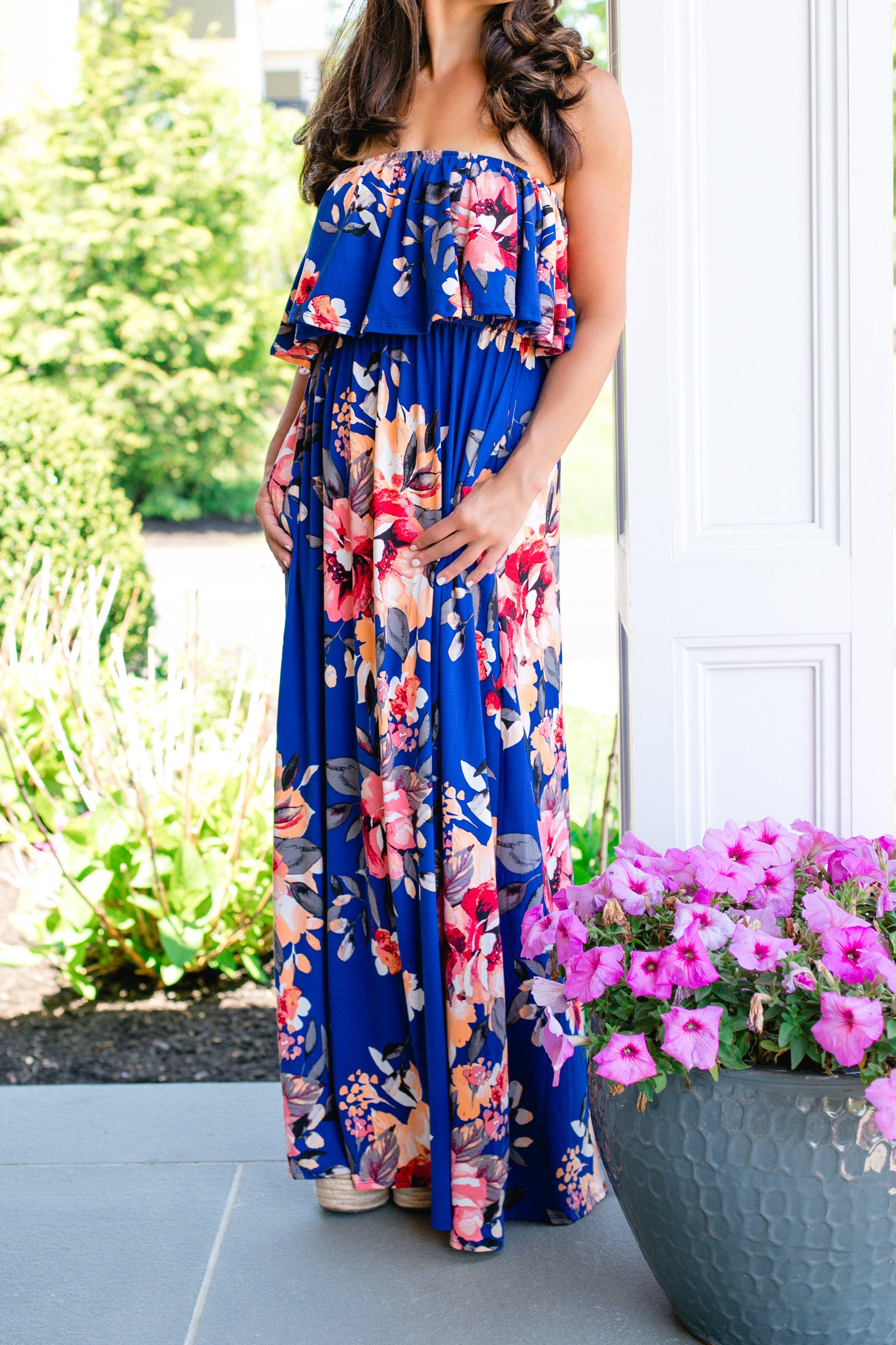 Summer Escape Blue Maxi Dress Maxi dress, Dresses, Maxi