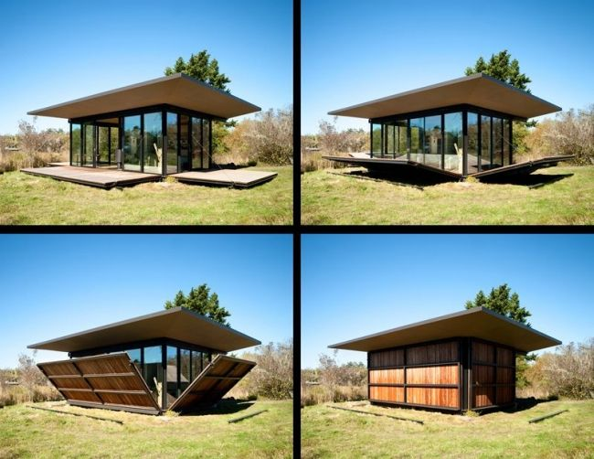 maison en bois demontable