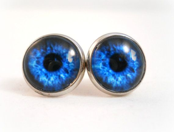 Eyeball Earrings Blue Eyes Jewelry Tween Quirky Weird Gift Ideas For S Cool Earring