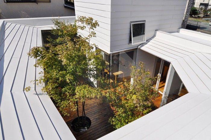 中庭へと開かれた快適住空間ここにしかない かけがえのない贅沢な時間