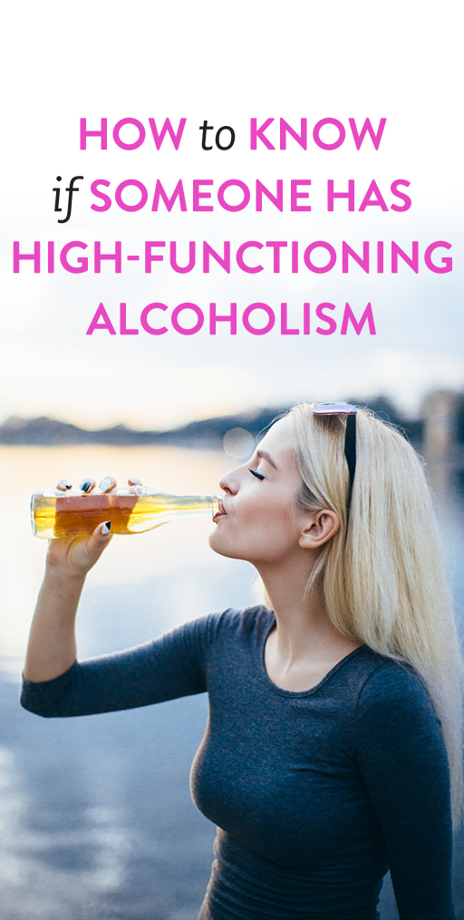 How to know if someone has high-functioning alcoholism