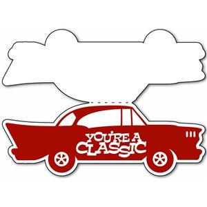 Silhouette Design Store: Classic Car Card