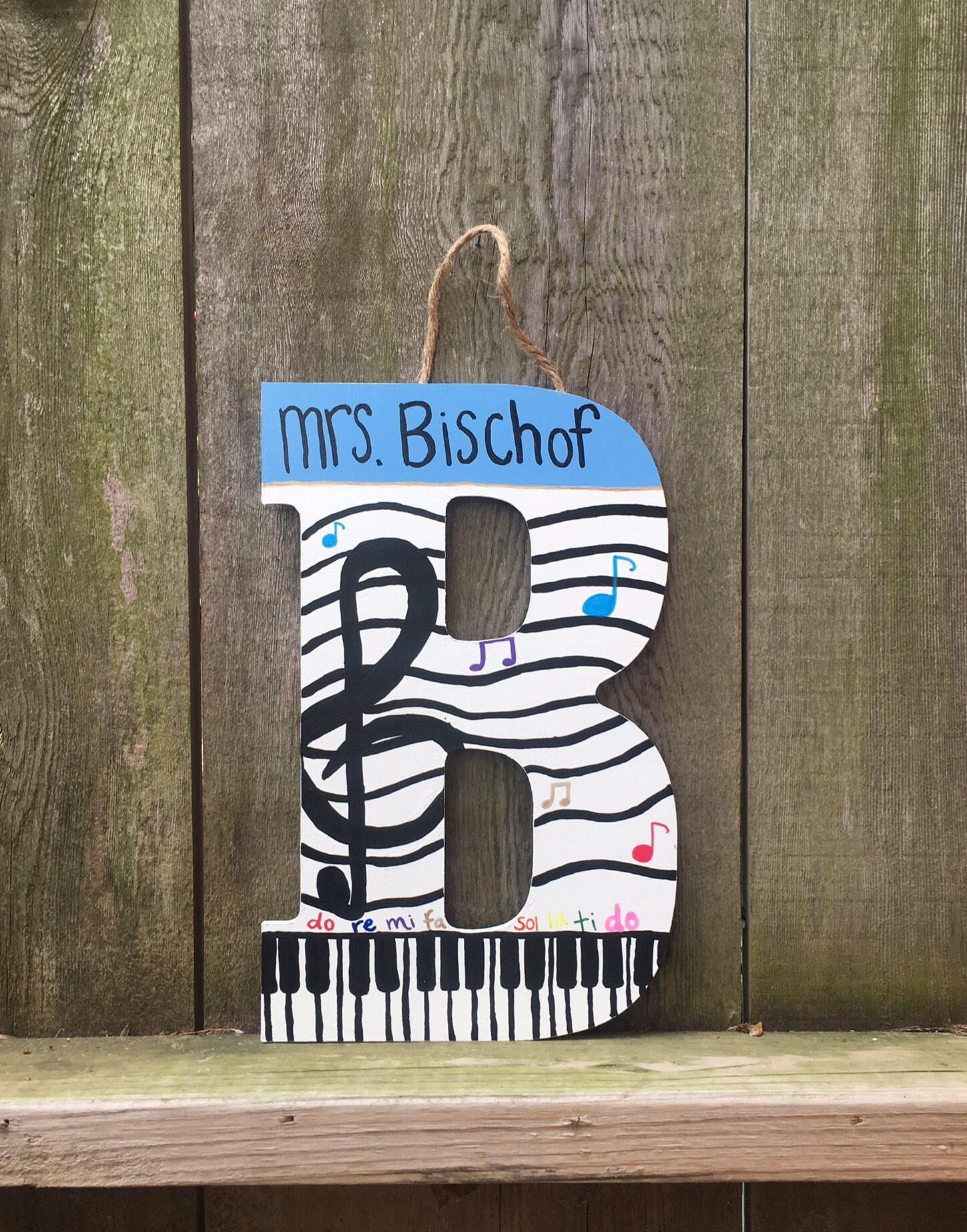 Music letters music teacher ts teacher appreciation teacher