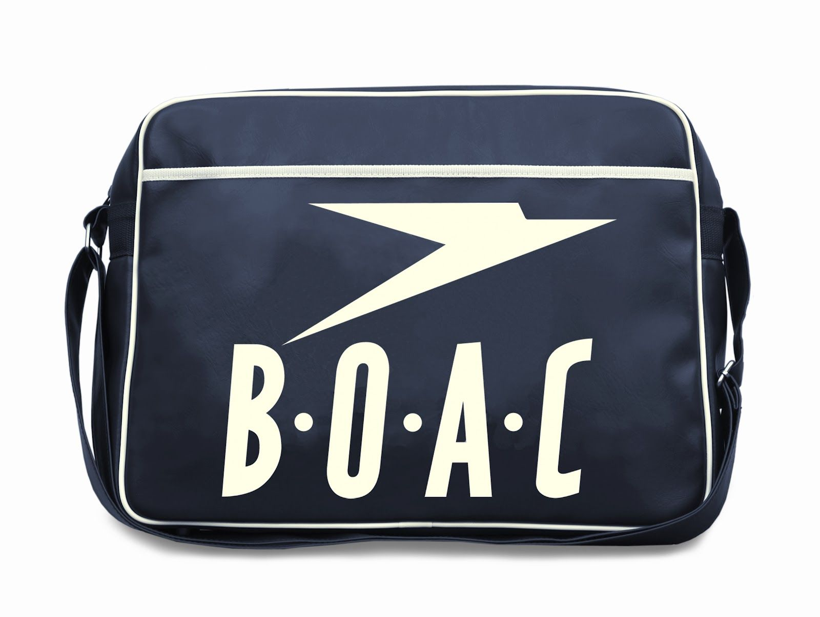 12a0cf6d1d BOAC  Retro Airline Bags Viajes En Avión