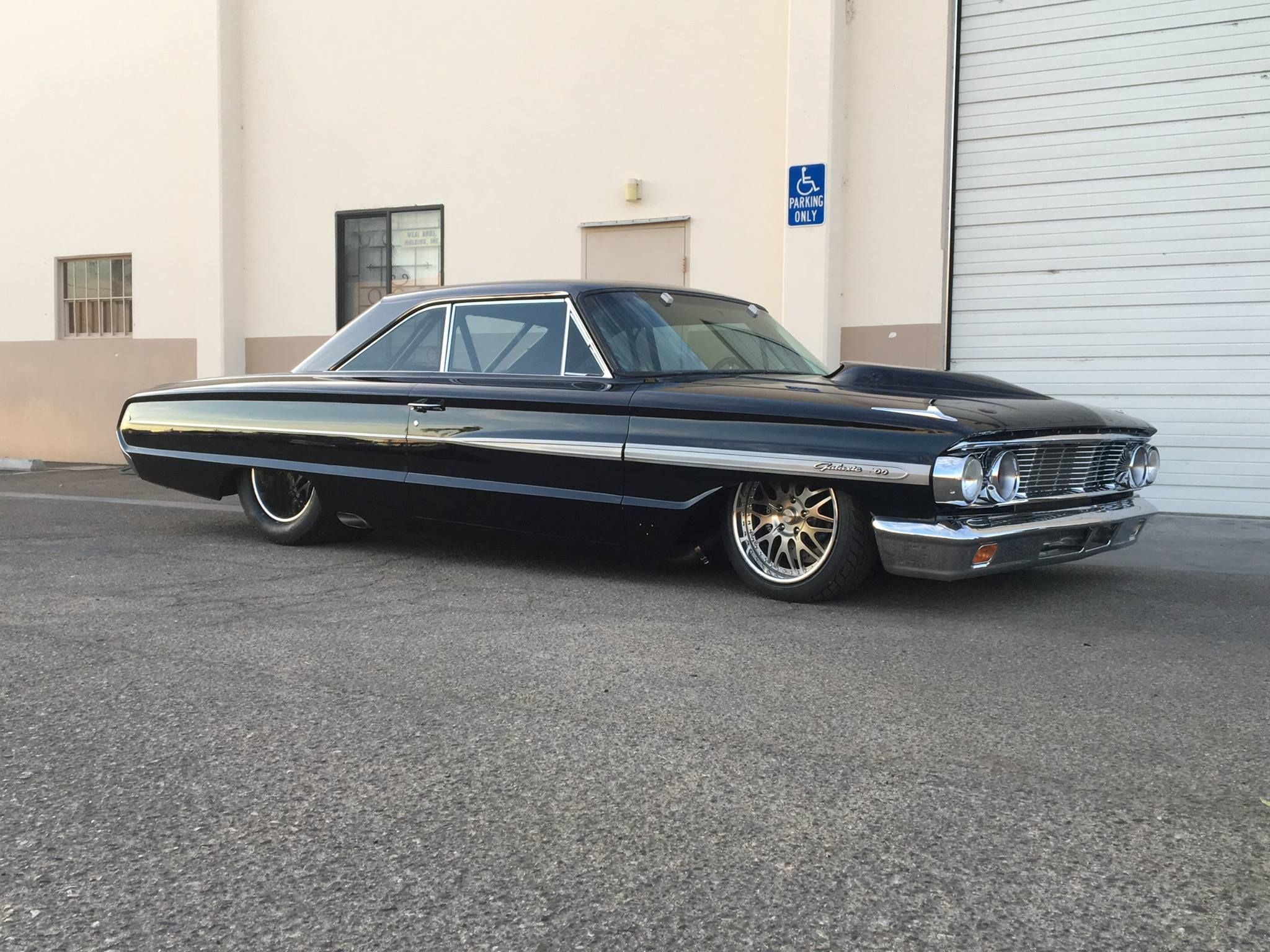 1964 Ford Galaxie With A Twin Turbo Cammer V8 Twin Turbo Galaxie Ford Galaxie