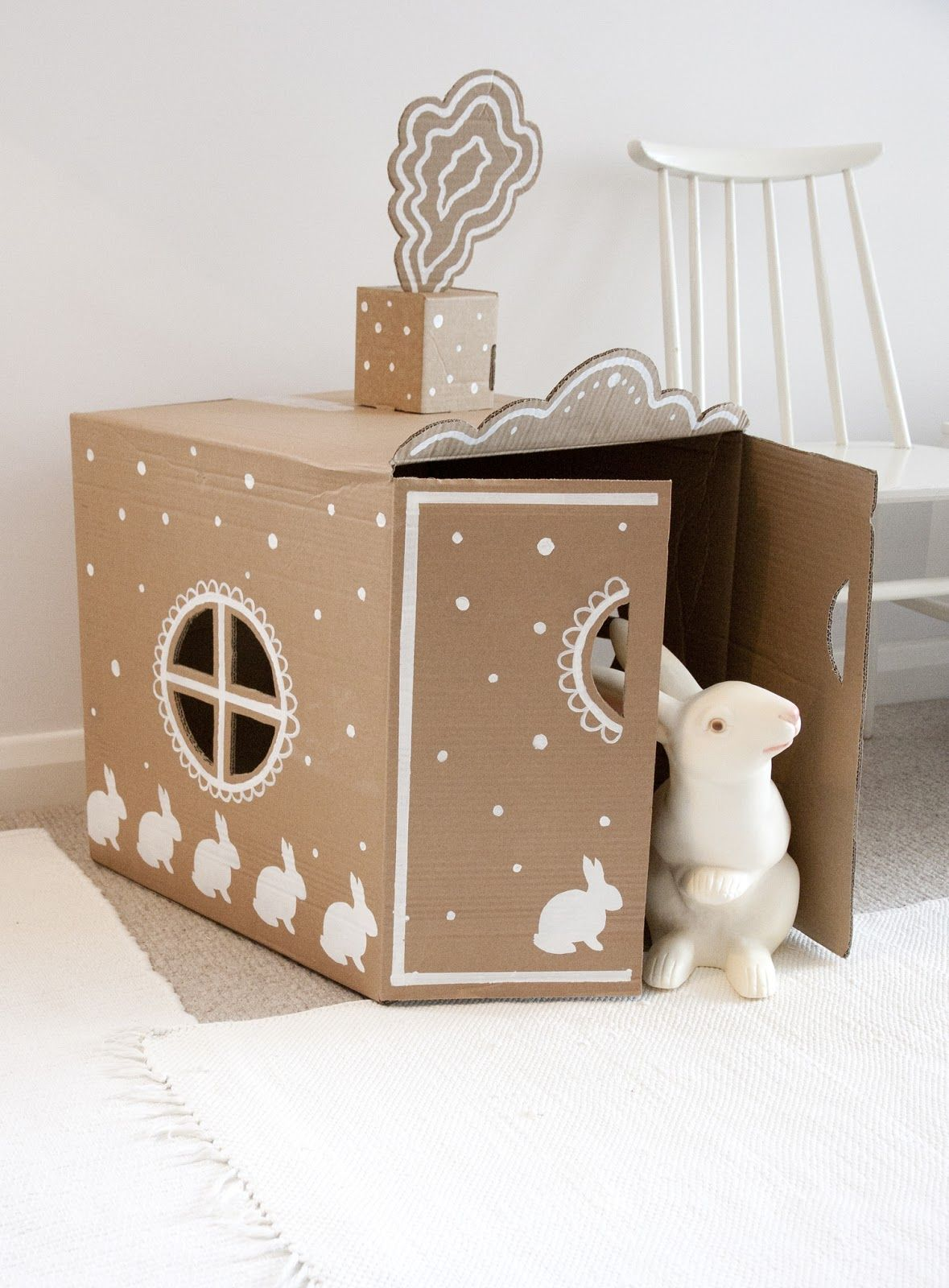 Recycled Cardboard Craft Kids Bunny Home Crafts Paper