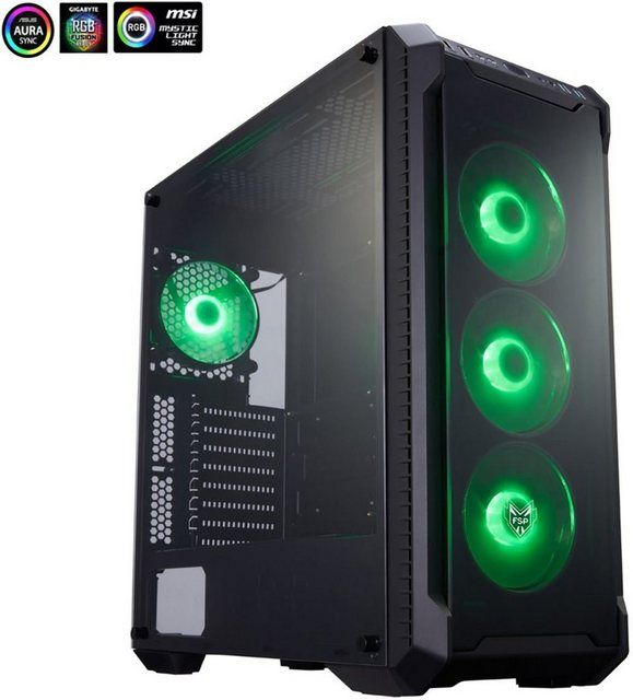 Highend Gaming R53-858 Gaming-PC (AMD Ryzen 7, RTX 2080 SUPER, 32 GB RAM, 1000 GB HDD, 1000 GB SSD, #windows10