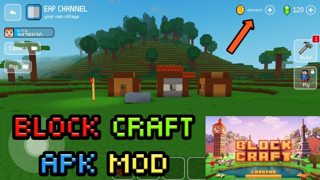 Block craft 3d Hack apk for Android free no survey in 2020