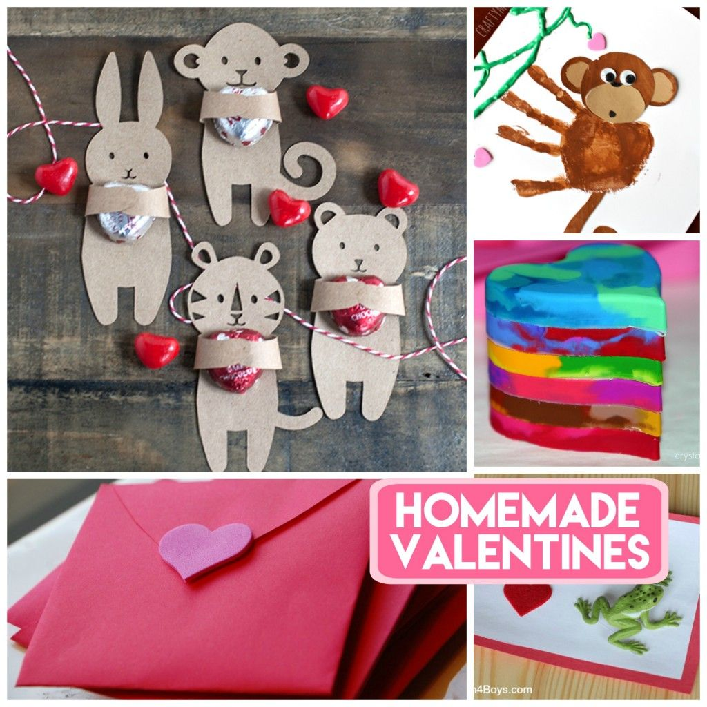 28 creative valentines your kiddo can make - Home Made Valentines