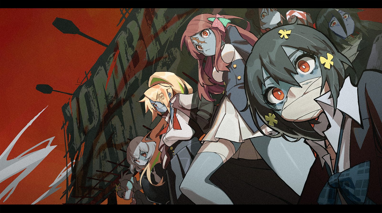 Zombie Land Saga Wallpapers Hd