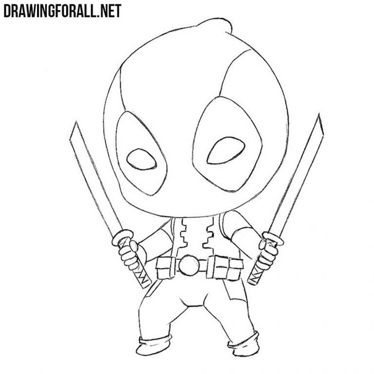 How To Draw Dead Pool Deadpool Dibujos Animados Dead Pool