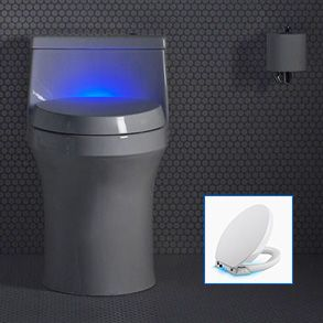 Fine Win A Lighted Toilet Seat From Kohler In Build Coms Weekly Inzonedesignstudio Interior Chair Design Inzonedesignstudiocom