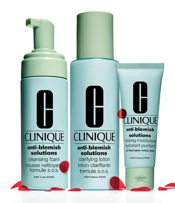 Clinique Anti Blemish Solutions 3 Step System Clinique Acne Solutions Clinique Anti Blemish Chest Acne
