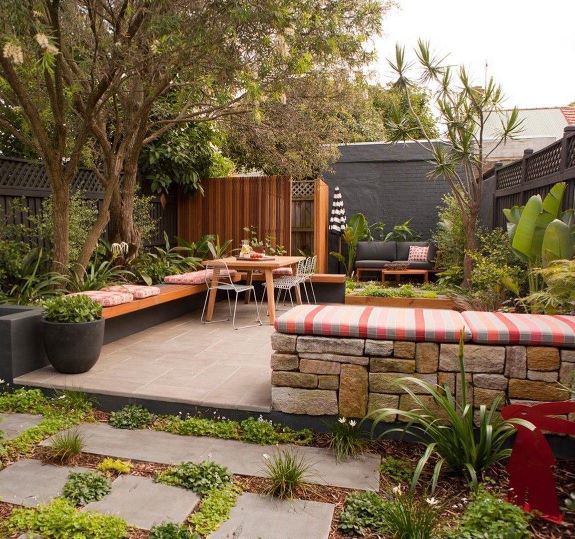 45 Gorgeous Small Garden Design With Low Cost Monthly Maintenance Backyard Garden Design Backyard Small Garden Design