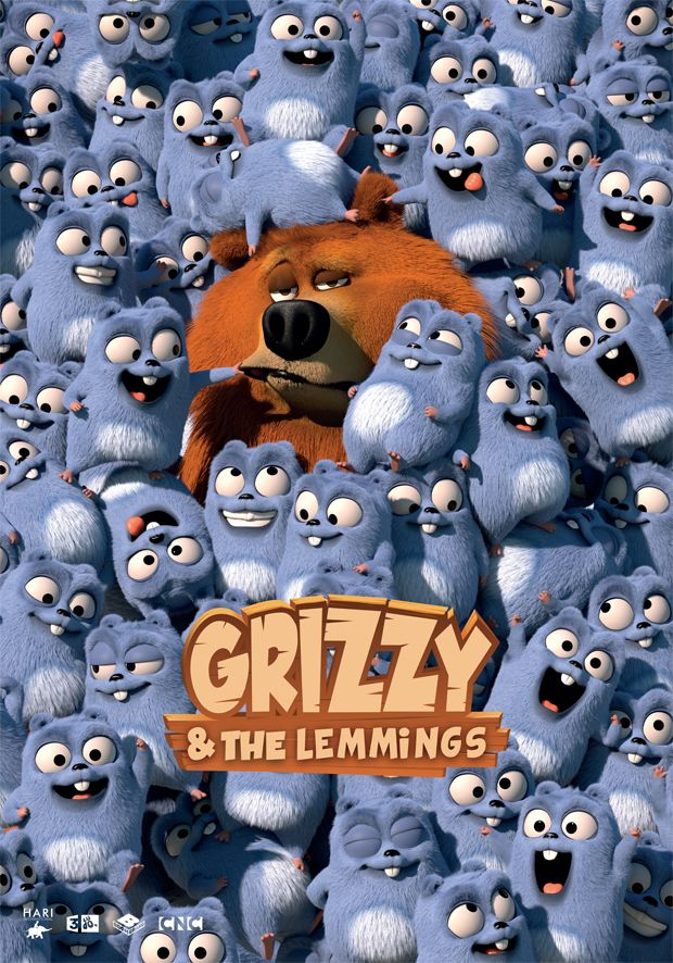 grizzy and the lemmings cartoons in 2019 we bare bears