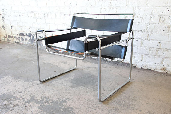 Marcel Breuer For Stendig Vintage Wassily Chair 3 Available