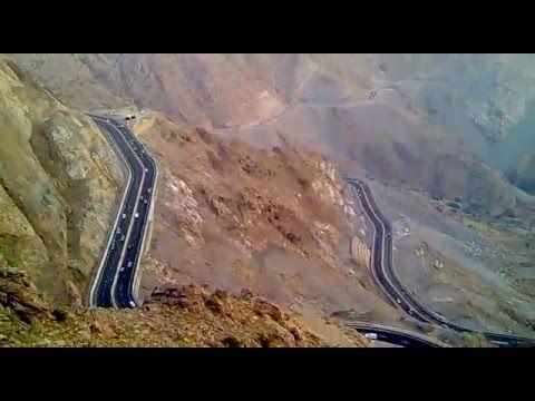 طريق الهدا Alhada Road Natural Landmarks Nature Landmarks