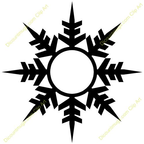 Free winter snowflake clipart custom clip art stencils free winter snowflake clipart custom clip art voltagebd Images