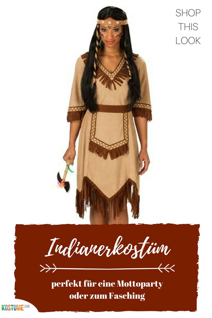 Apache Indianer Kostum Fur Damen Indianerin Kostum Indianer Kleid Indianer Kostum Selber Machen