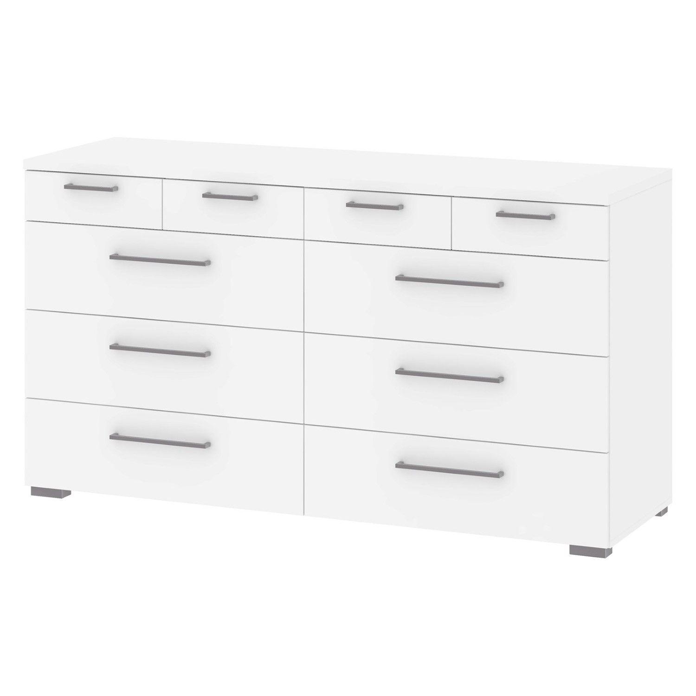 Tvilum Aria 10 Drawer Dresser Tvilum White Dresser Dresser Drawers