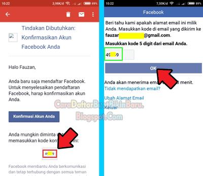 Cara Mendaftar Facebook Baru Lewat Hp Dengan Email Mudah & Cepat ...