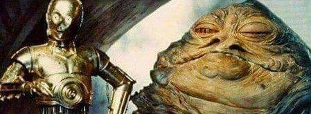 C-3PO Jabba The Hutt