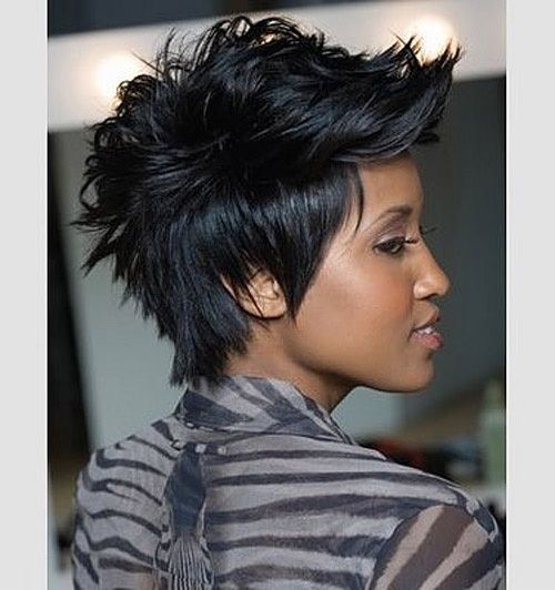 Astonishing 24 Stunning Short Hairstyles For Black Women For Women My Hair Hairstyles For Men Maxibearus