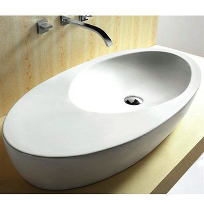 Nameek's Inc. Caracalla CA4527 Ceramica Vessel Sink