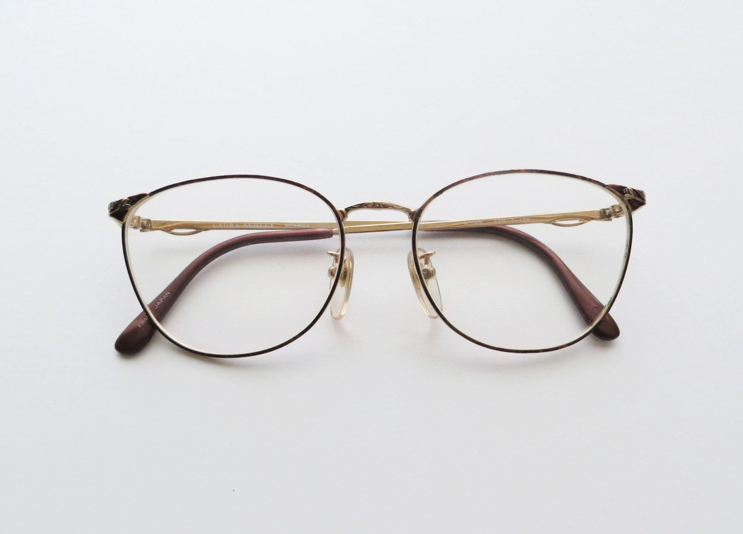 Glasses Frame Styles : 90s Laura Ashley Wire Rim Glasses