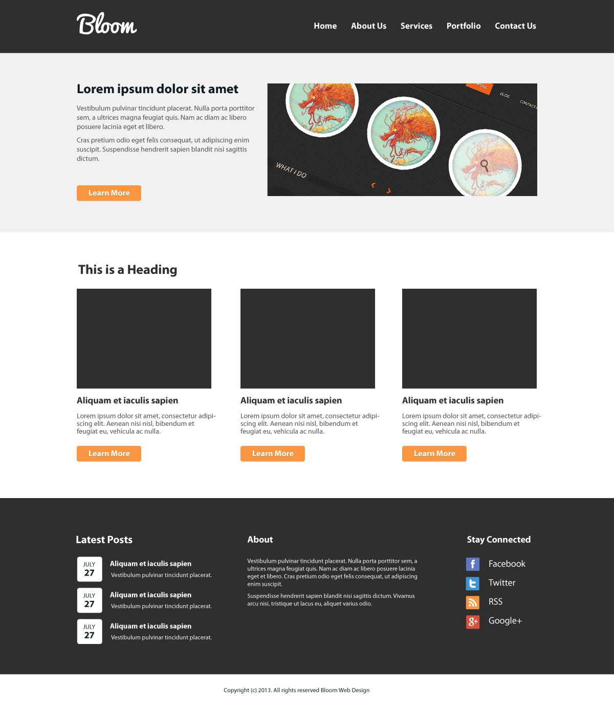 Create a clean website layout psd to htmlcss tutorial website welcome to part 1 of create a clean psd to htmlcss website layout tutorial baditri Image collections