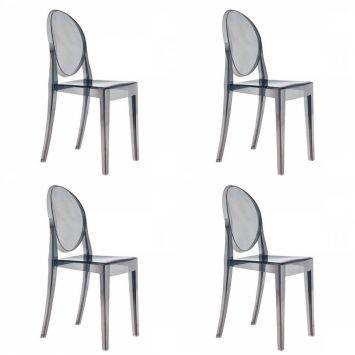 Compre Conjunto 4 Cadeiras e pague em até 12x sem juros. Na Mobly a sua compra é rápida e segura. Confira!