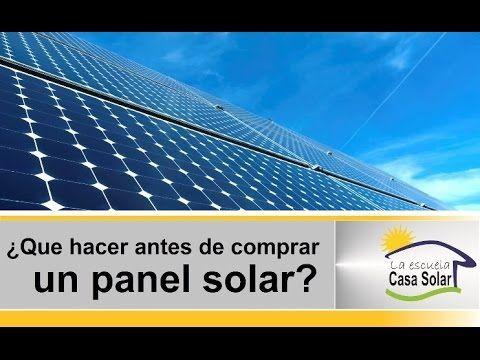 Como Calcular Un Panel Solar Muy Facil Calculo De Paneles Fotovoltaicos Youtube Energia Solar Paneles Solares Sistema Solar