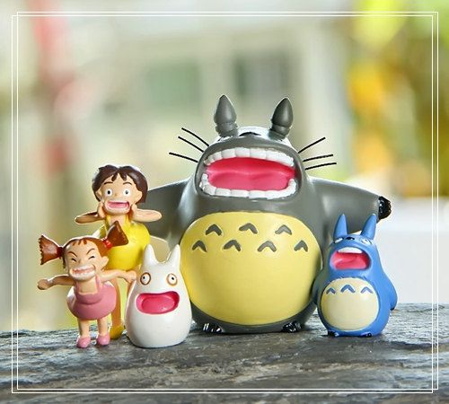 My Neighbor Totoro Shouting Scenario Fairy Gardens Dollhouse Accessories Miniature Fairies  Figurines Succulent Suppliers Home Decor #dollhouseaccessories
