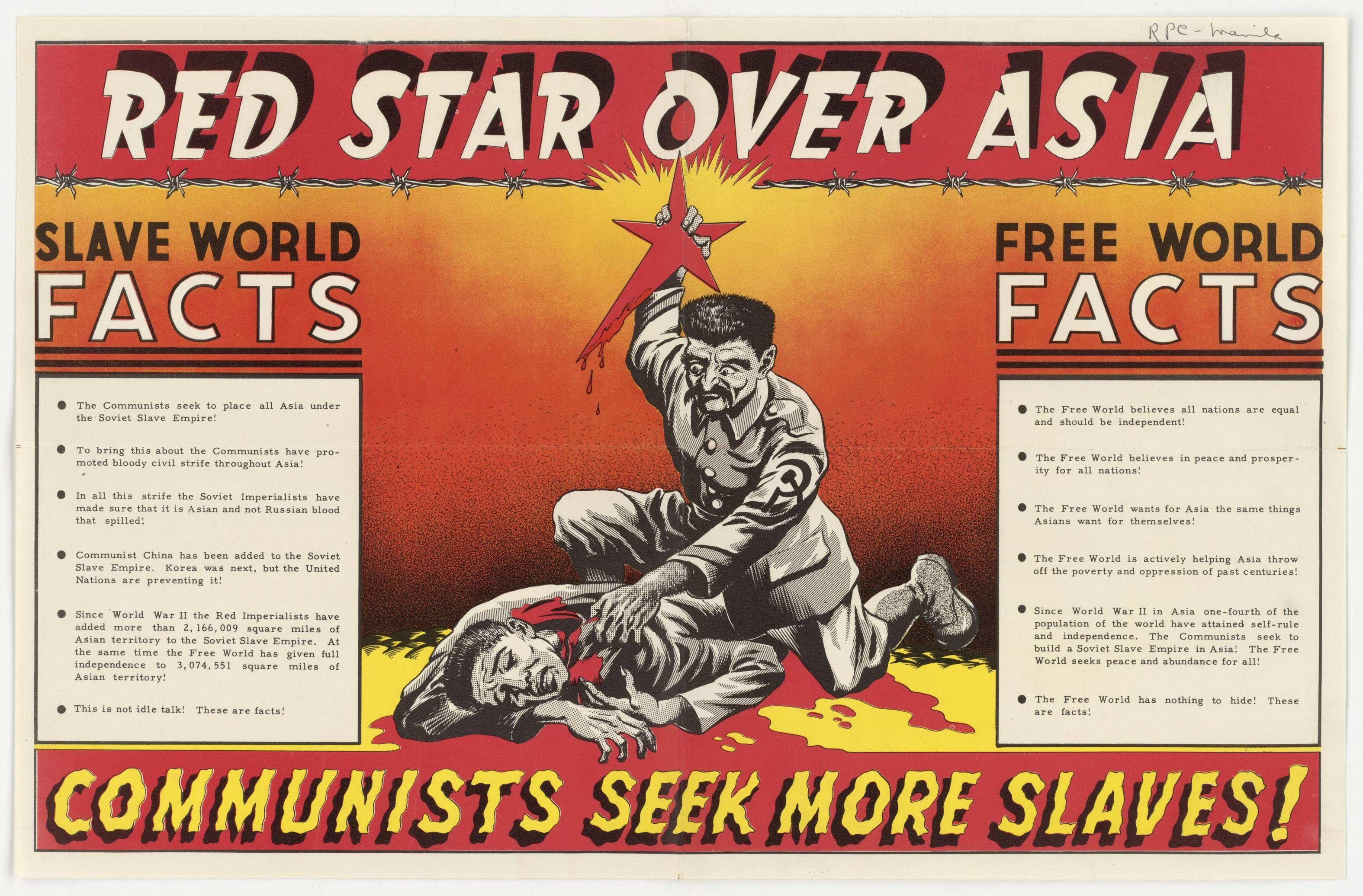 Opinion you anti communist propaganda cold war all