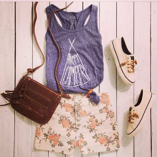 This is a cute outfit for summer !!!!try it