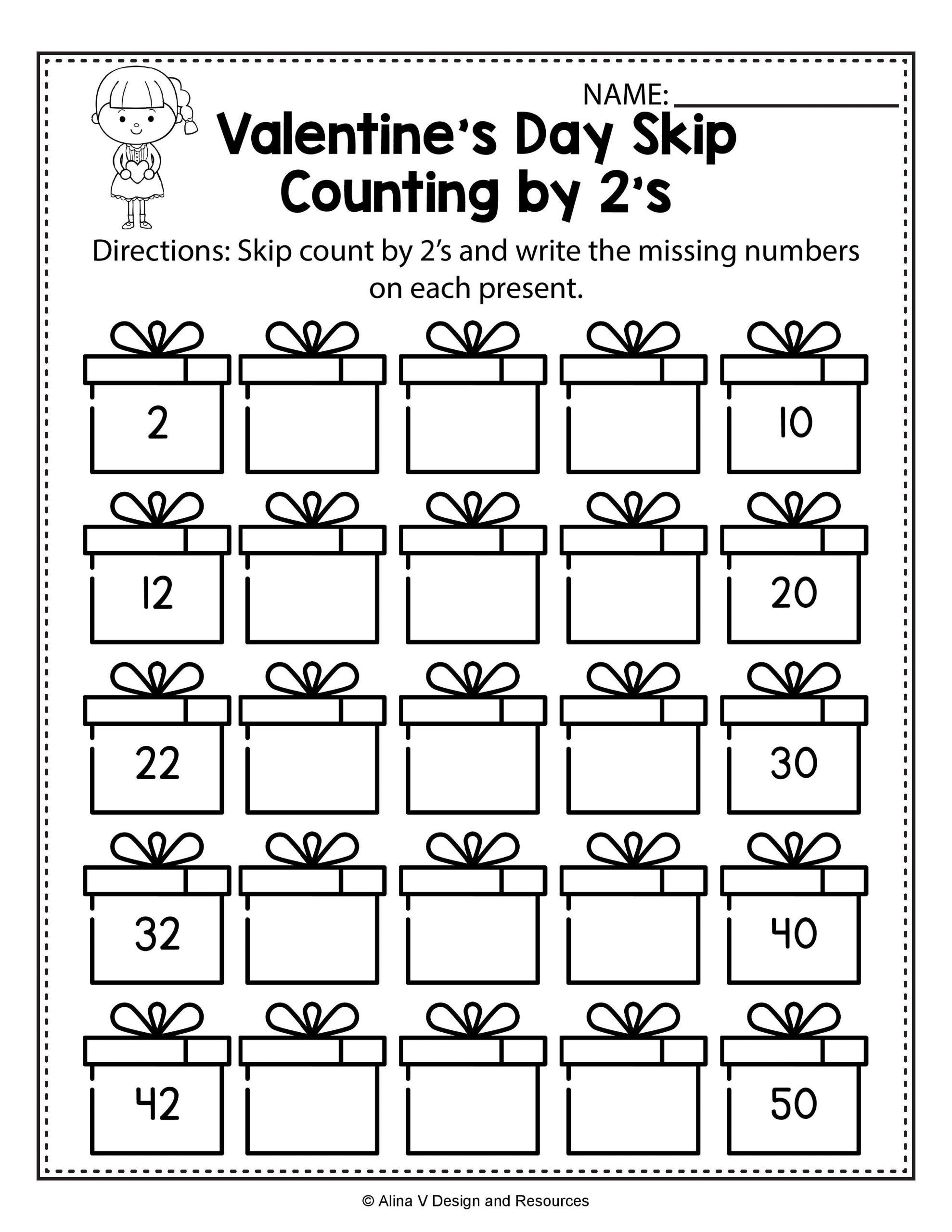 Counting Worksheets For Kindergarten Free In