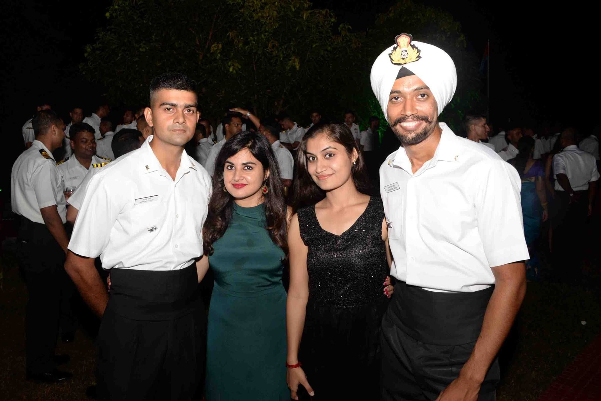 9 Awesome Pictures From Indian Navy Academy Ball Event Indian Navy Indian Army Military Academy
