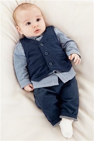 Buy Navy Waistcoat 0 18mths From The Next Uk Online Shop