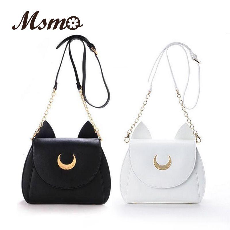 Luna Sailor BlancoNegro Ladies Bag LunaArtemis Shoulder 2016 Moon gBwxznqv