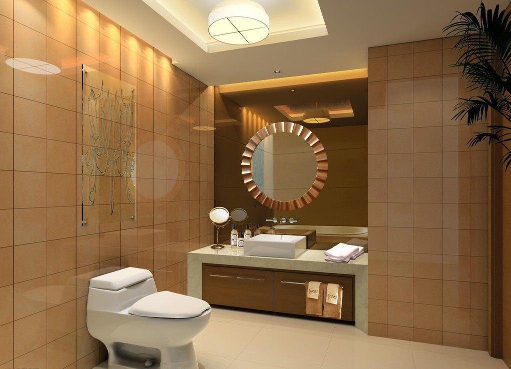 Luxurious European Toilet Design Luxury Hotel Toilet Chandeliers And Wall Decoration Bathroom