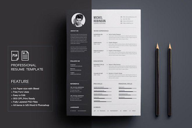 Resume Templates Creative Pinester Amorim On Modelos  Currículo  Pinterest  Cv Ideas