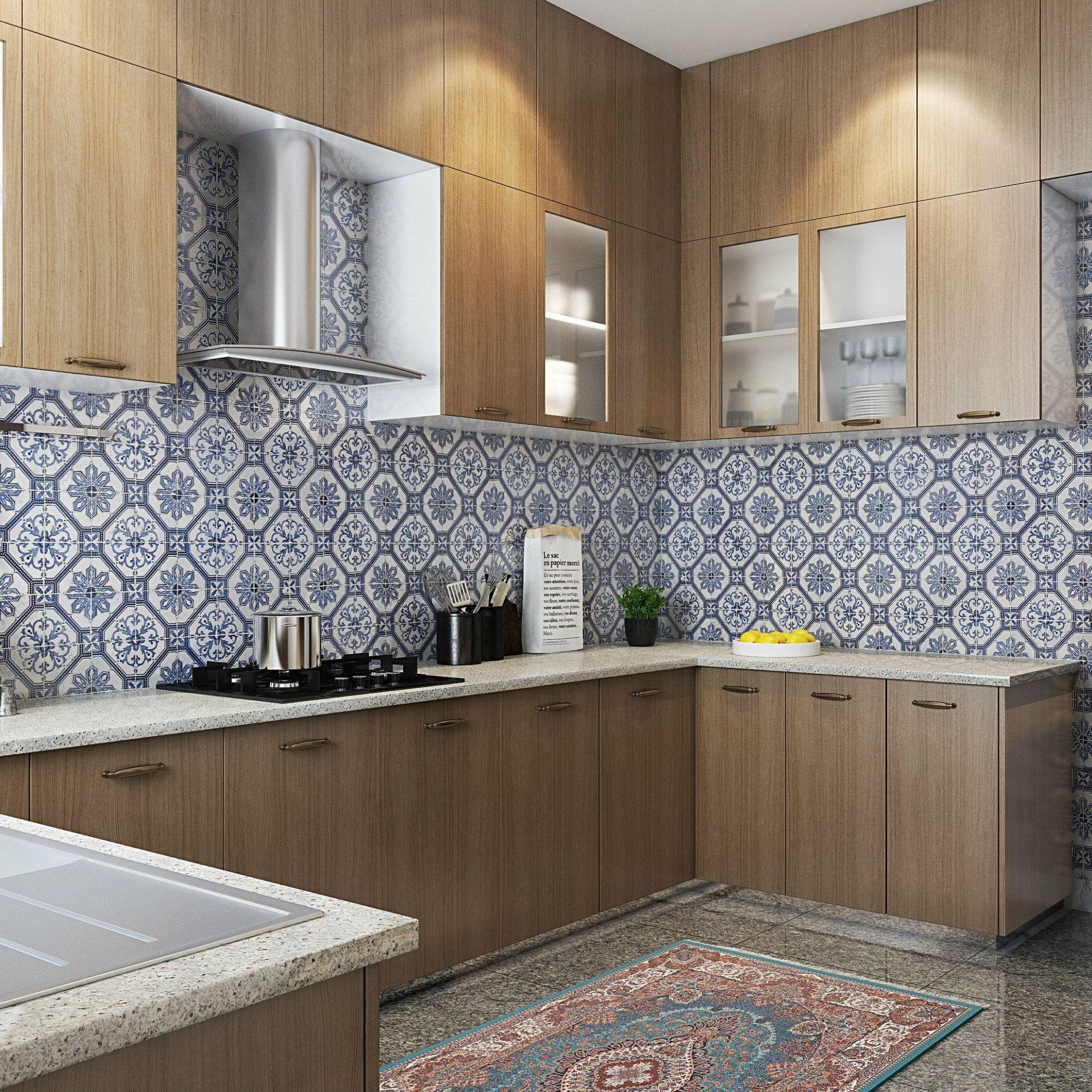 Modular Kitchen Wall Tiles Design Design Kitchen Wall Tiles