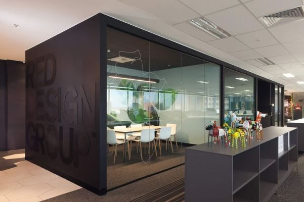 interior design in office space compact office Pinterest